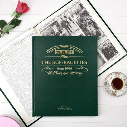 The Suffragettes - Newspaper Book